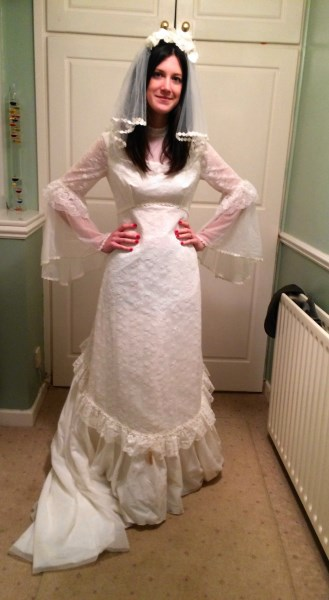 70s Wedding Dress