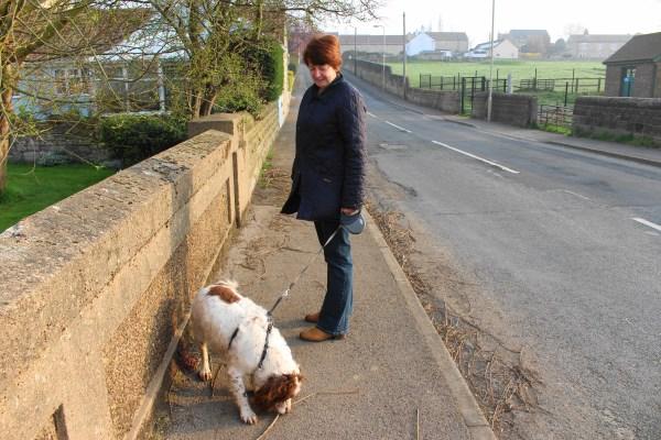 Mum & Dog 1