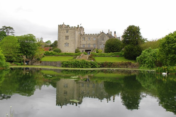Sizergh Castle Reflection