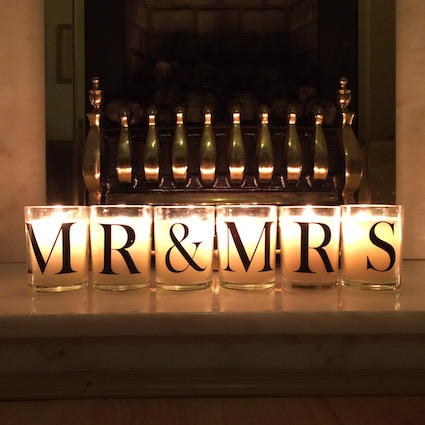 Mr&Mrs Candles