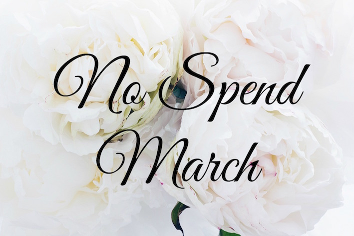 no-spend-march